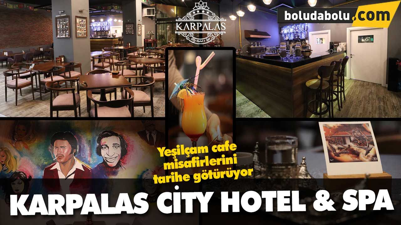 Karpalas City Hotel & SPA Yeşilçam cafe