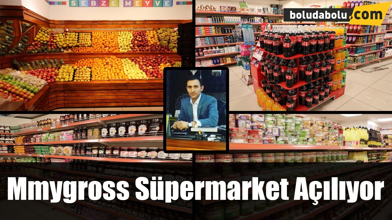 MMYGROSS MARKET AÇILIYOR