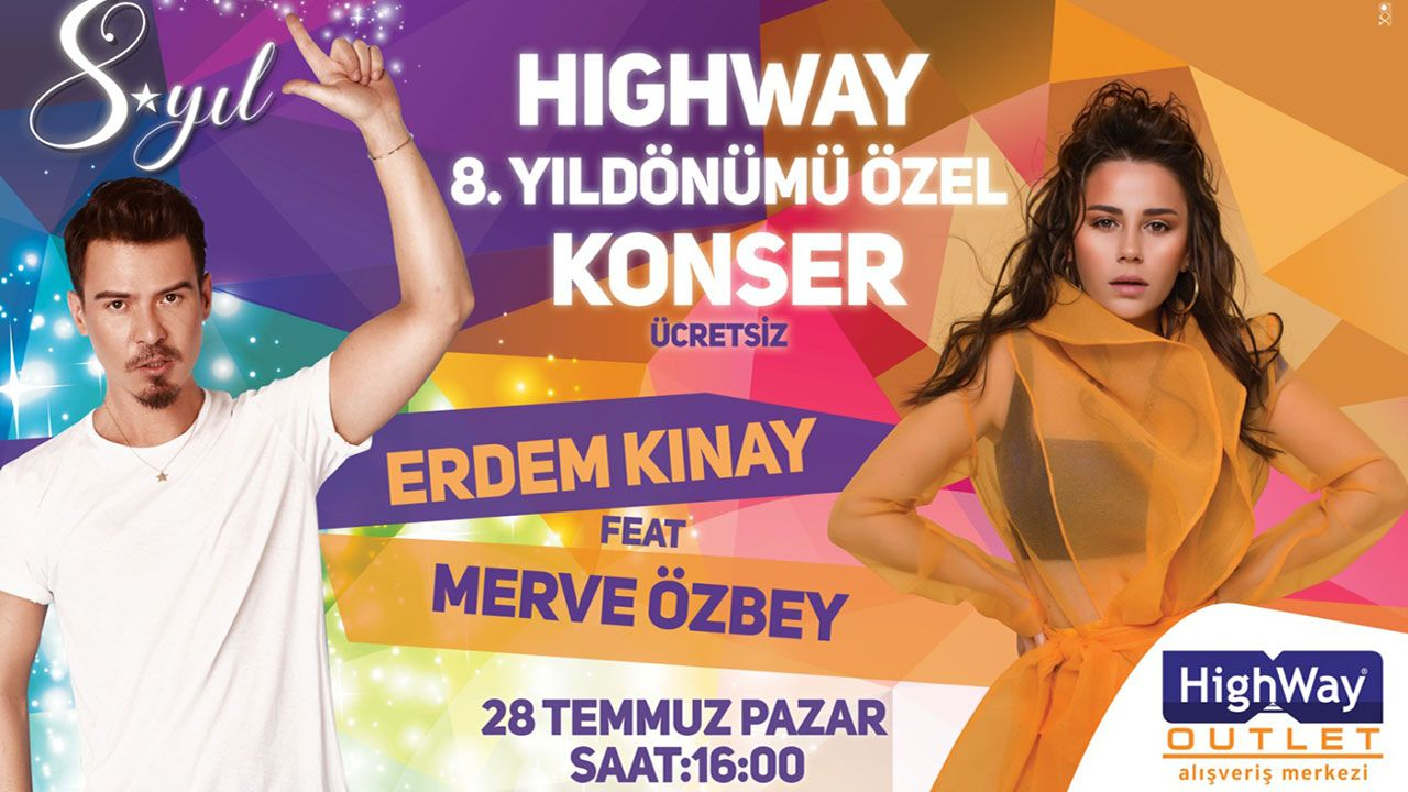 HIGHWAY OUTLET 8 YAŞINDA!